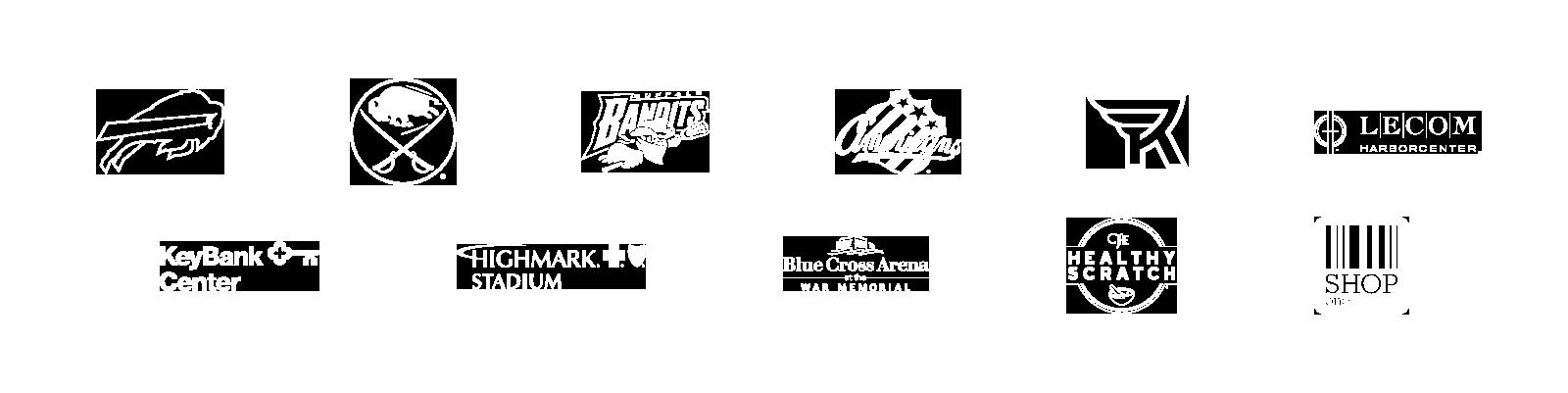 Teams, brands and properties